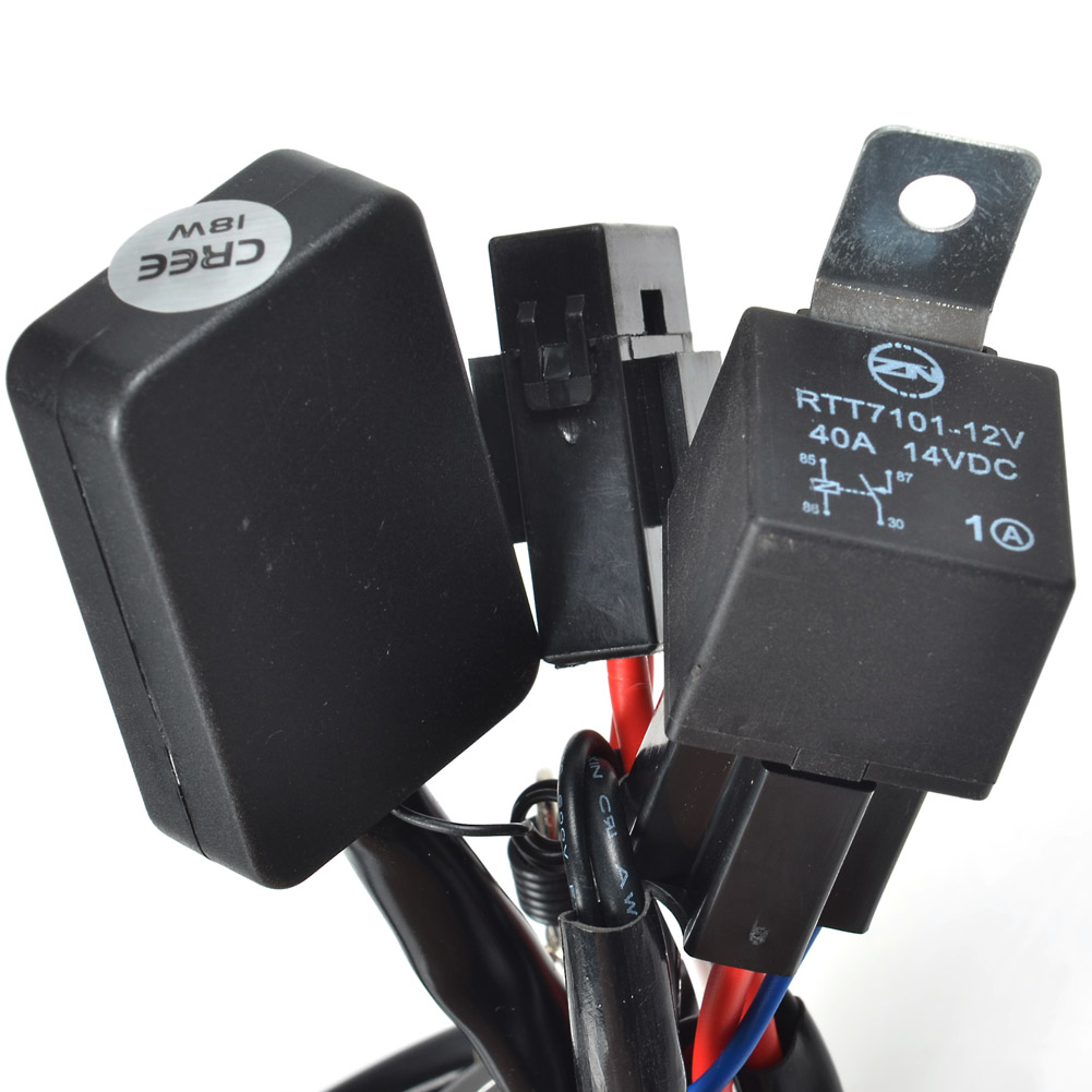 Kawell 1 Leg Plug And Play Remote Control With Normal Flashing Wiring Harness Mode Supporting 300w