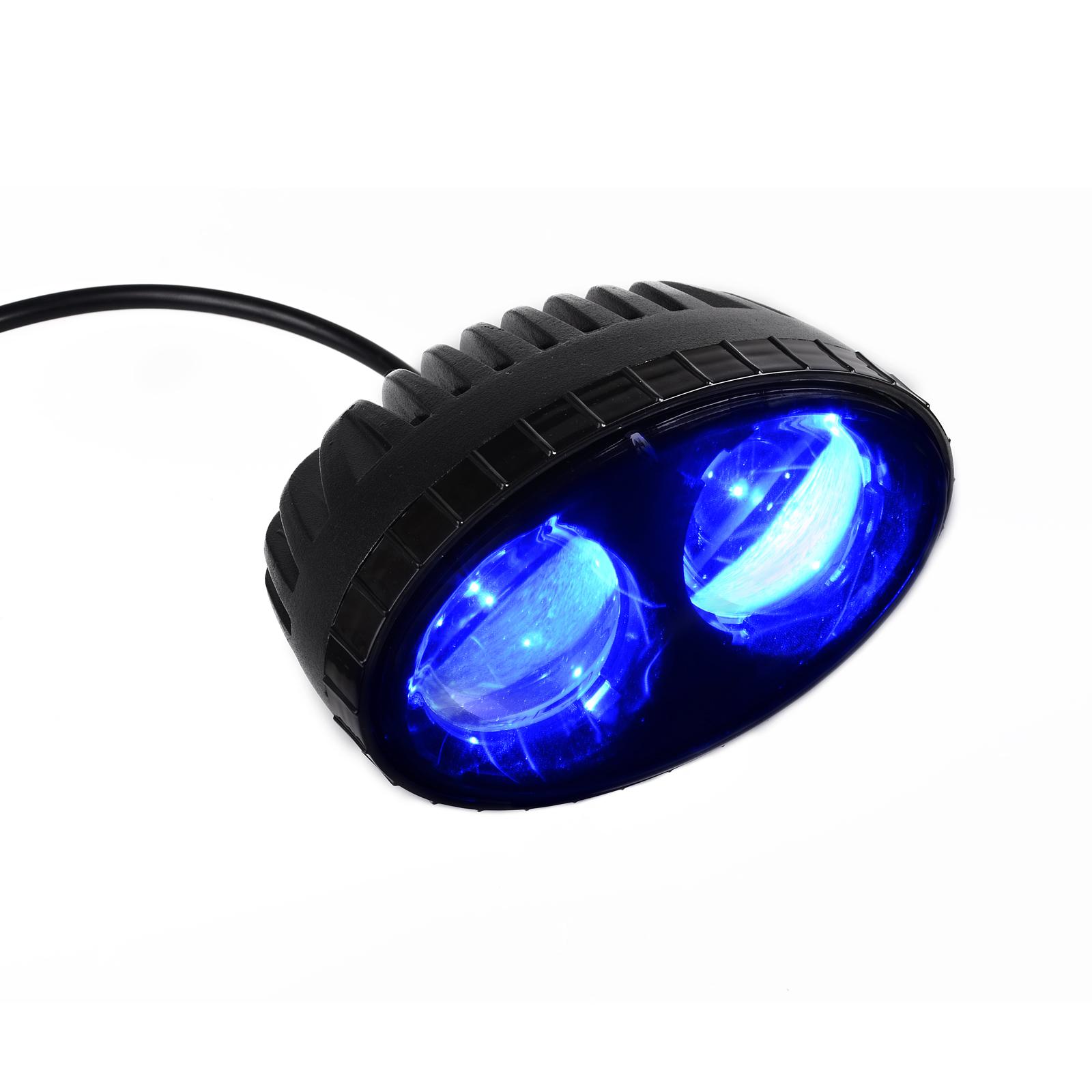KAWELL K1 1008 8W CREE Blue LED Forklift Safety Light