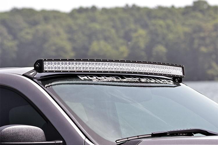 Kawell 54 Inch Curved Led Light Bar Upper Windshield